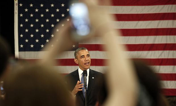 Obama Hundertprozentige Privatsphaere gibt
