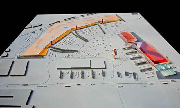 Gerasdorf letzte Einkaufszentrum gruenen