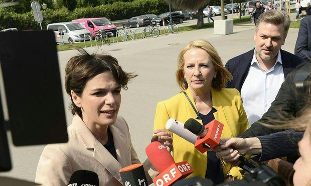 SPÖ-Präsidium für Rendi-Wagner als Spitzenkandidatin.