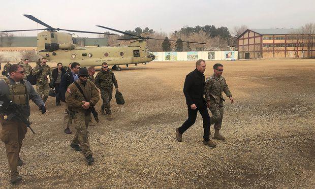 US-Verteidigungsminister Patrick Shanahan reiste nach Kabul.