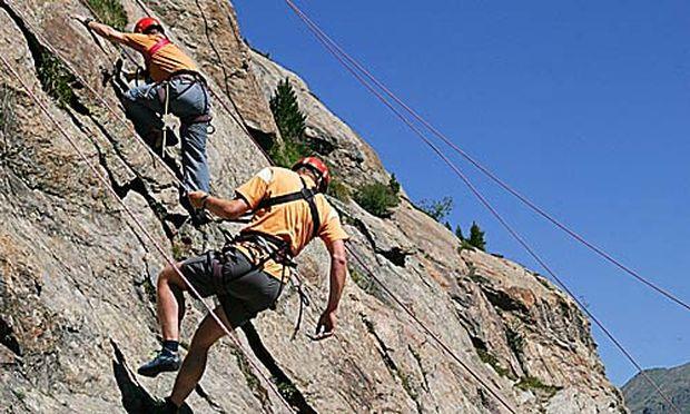 Klettersteig Niederösterreich : Klettersteig e flaterwand niederösterreich