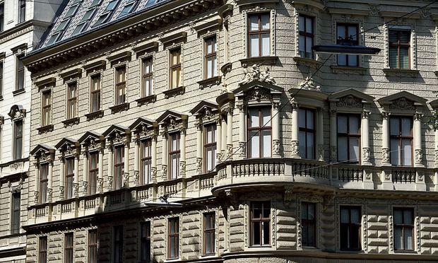 Symbolbild Zinshaus, Altbau