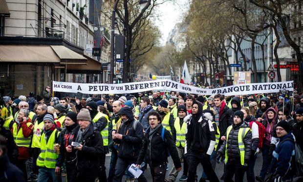 Proteste in Paris / Bild: imago/Le Pictorium