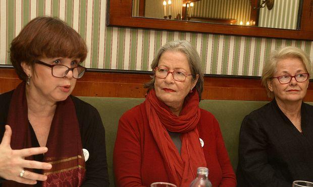 Caroline Koczan, Susanne Scholl und Monika Salzer