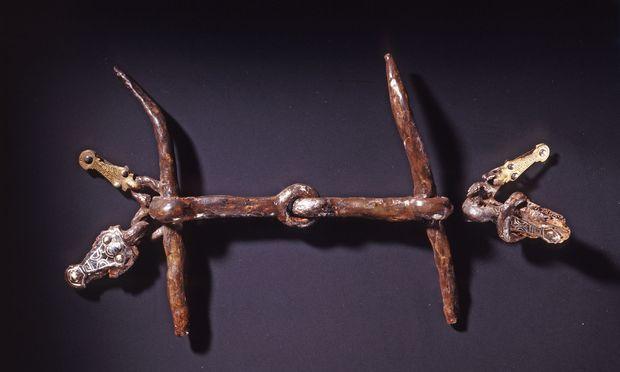 Reiche Grabbeigaben: Auch diese Fibel fand sich in der Grabstätte von Niederstotzingen.