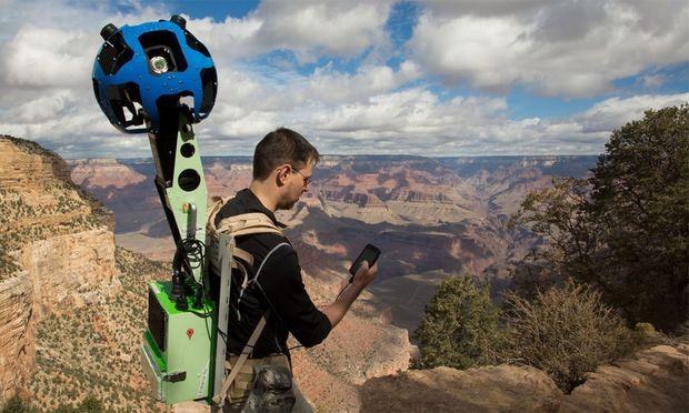 Street View Google fotografiert