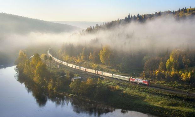 Transib - Linienzug