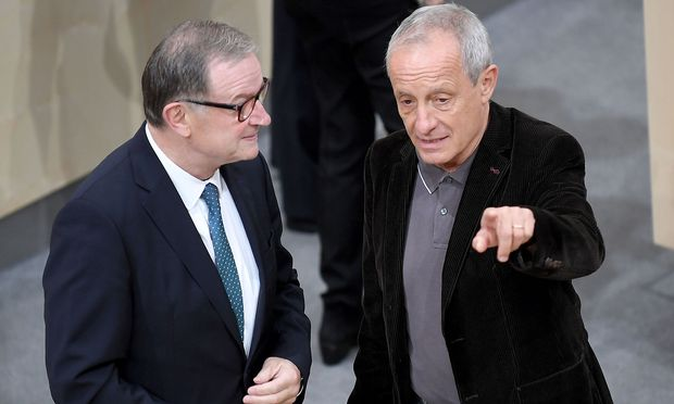 Kohl und Pilz folgen auf VP-Mandatar Auer und SP-Klubchef Cap. / Bild: (c) APA/ROLAND SCHLAGER (ROLAND SCHLAGER)