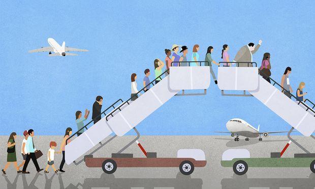 Der weltweite Flugverkehr sei lediglich für zwei Prozent der Treibhausgas-Emissionen verantwortlich.