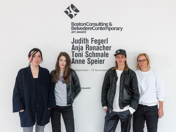 Die Künstlerinnen des BC21-Awards