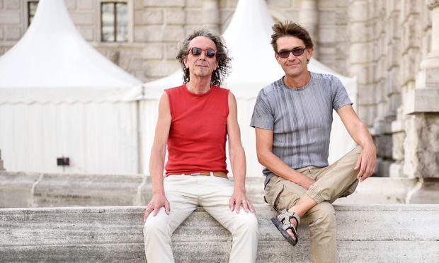 Ergänzen einander laut eigener Aussage ideal: Robbie Lederer (l.) und Peter Marnul.