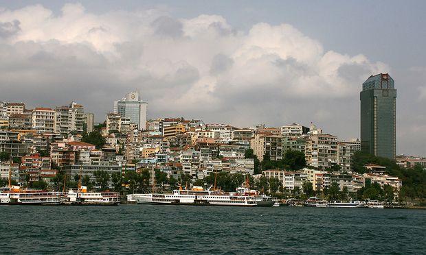 Tuerkei, Istanbul, Bospurus
