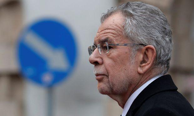 Bundespräsident Van der Bellen ist seit knapp mehr als einem Jahr im Amt.