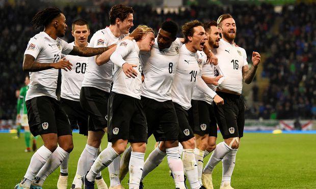 2018 hatte das ÖFB-Team nicht immer Grund zur Freude, in Nordirland wurde aber über einen Sieg gejubelt. / Bild: (c) REUTERS (CLODAGH KILCOYNE)