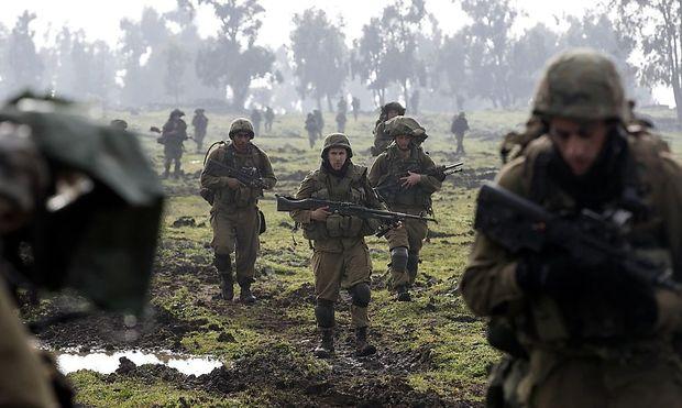 Männer der Golani-Brigade