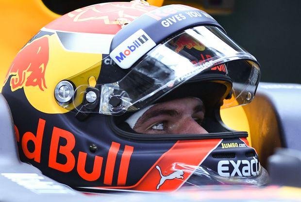 Red Bull-Fahrer Max Verstappen gewinn Formel 1-Grand Prix in Malaysia