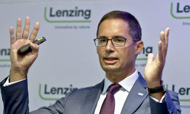 Lenzing-Chef Stefan Doboczky