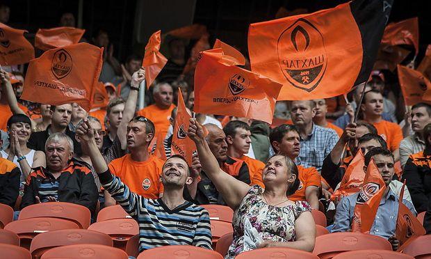 Fans von Schachtjor Donezk