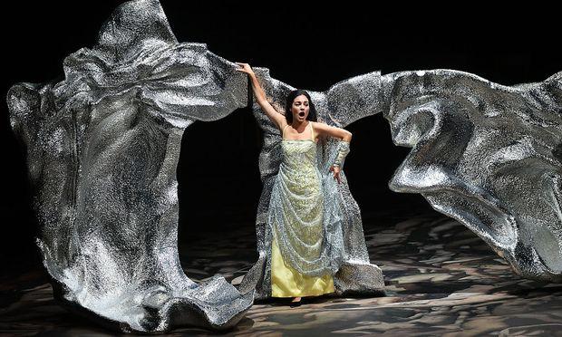 """Bejubelt wurden im Haus für Mozart allen voran """"Poppea"""" Sonya Yoncheva und """"Nerone"""" Kate Lindsey."""