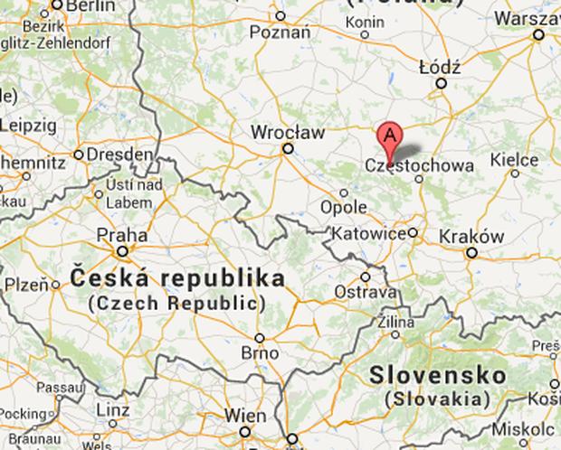 Lage von Bodzanowice