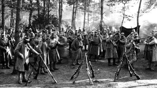 k.u.k.-Soldaten 1914