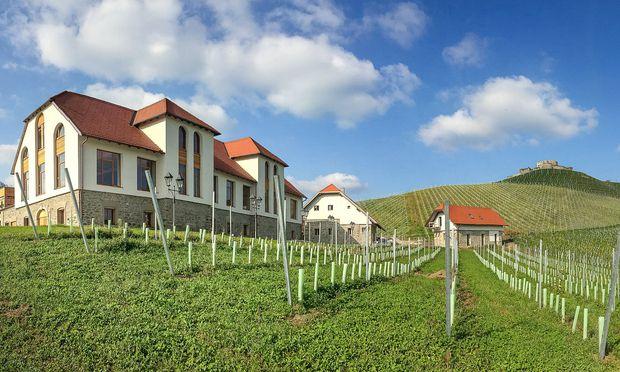 Weingut Taggenbrunn von Jacques Lemans bei St. Veit. Hüte von Josef Kollmann in Metnitz.