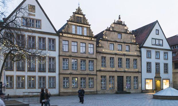 """Die """"gute Stube"""" der Stadt – der Alte Markt."""