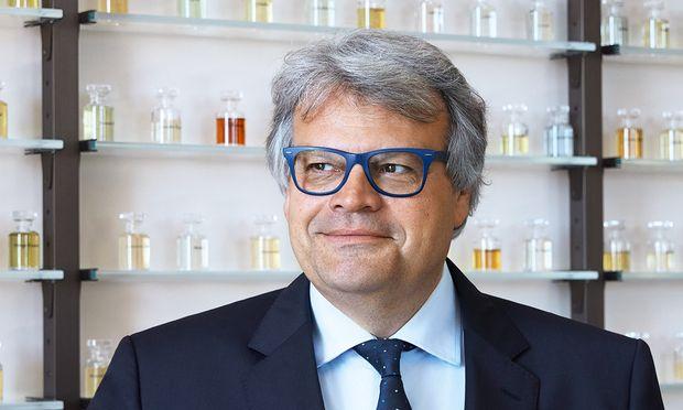 Verschmitzt. Jacques Cavallier Belletrud hat einen Traumjob unter Parfumeuren ergattert.