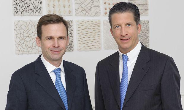 """Springboard""-Gründer Robert Gulla und Michael Schaumann."