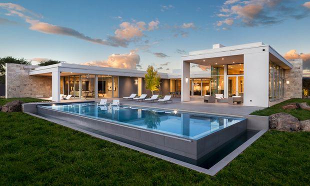 Vineyard St. Helena: Modernes Design trifft viel Natur.
