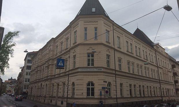Der frühere Standort in der Baumbachstraße