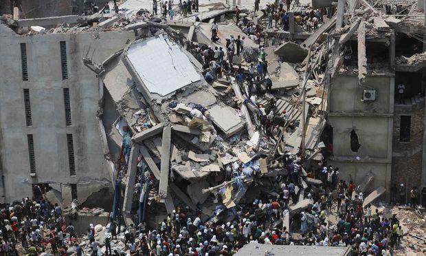 Die Katastrophe von Rana Plaza am 24. April 2013.
