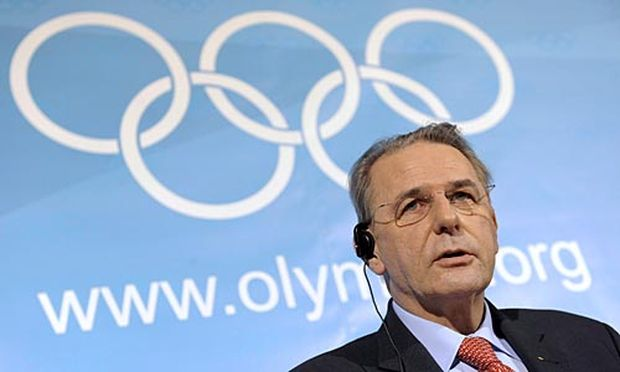 IOC-Präsident Jaques Rogge.