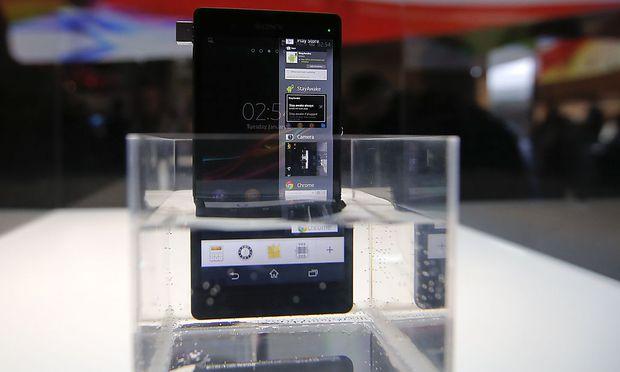 Xperia Sonys wasserdichtes FlaggschiffSmartphone