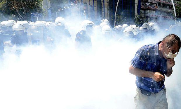 Die Gezi-Proteste im Vorjahr wurden brutal niedergeschlagen