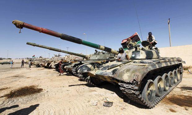 Libyen Rebellenoffensive Tripolis
