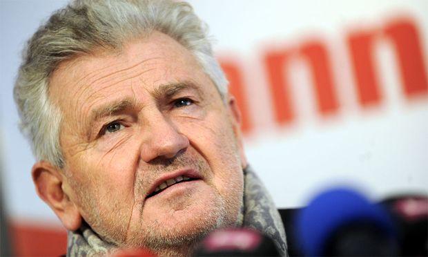 Andreas Mölzer, FPÖ-Spitzenkandidat für die EU-Wahl.