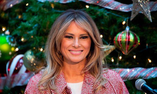 Melania Trump hat jetzt eine neue Frisur.