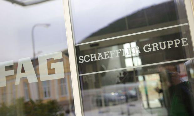 Aktienkurs von Schaeffler nach Gewinnwarnung eingebrochen