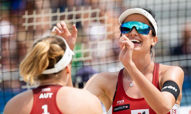 Katharina Schützenhöfer (links) und Lena Plesiutschnig