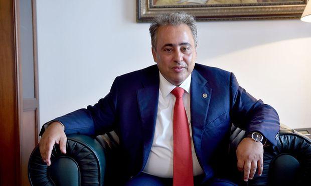 Der katarische Botschafter Ali Bin Jassim Al-Thani