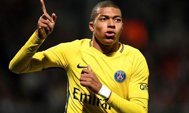 Für Ausnahmetalent Kylian Mbappe machte Paris Saint-Germain 180 Millionen Euro locker