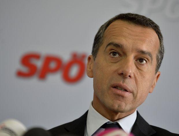 SPÖ-Chef Bundeskanzler Christian Kern