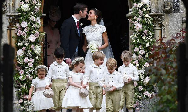 Märchenhochzeit: Kates Schwester Pippa hat geheiratet « DiePresse.com