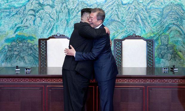 Trotz Korea-Gipfel: Trump will Druck auf Pjöngjang aufrechterhalten