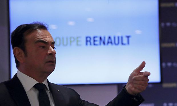 Renault-Chef Carlos Ghosn
