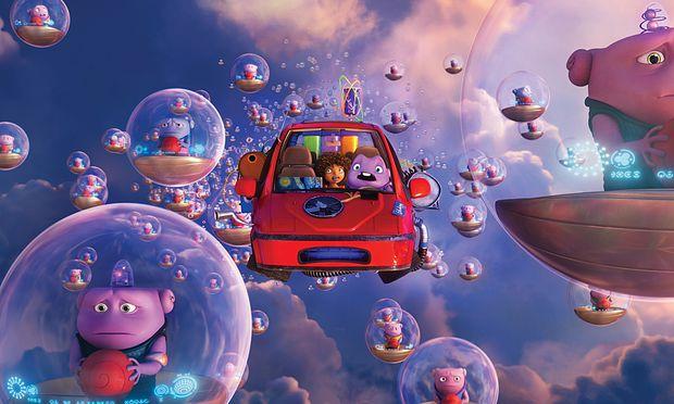 ''Home - Ein smektakulärer Trip'' toppt die US-Kinocharts
