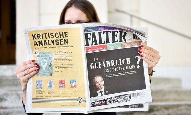 """Das Innenministerium ist mit der Berichterstattung der Wochenzeitung """"Falter"""" unzufrieden. (Symbolbild)"""