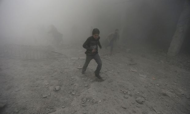 Berichte über viele Tote bei Luftangriffen auf Duma