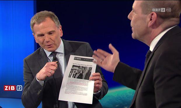 """Was sagt die FPÖ-Homepage über Vilimskys Einstellung zur EU? Und ist das """"wahr""""?"""